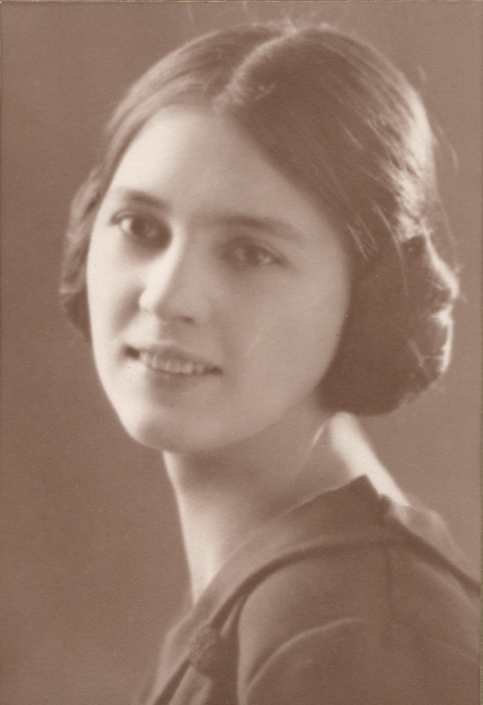 portrait of nell goforth from the 20s