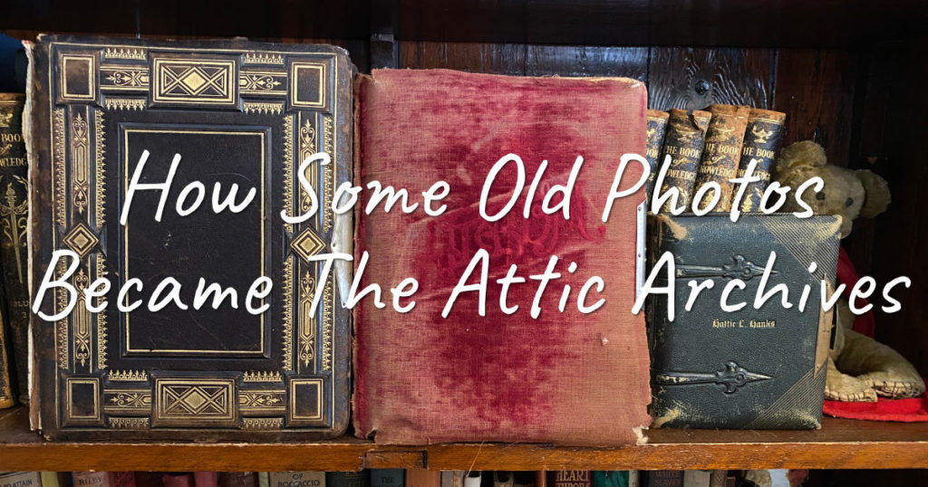 how old photo albums became the attic archives
