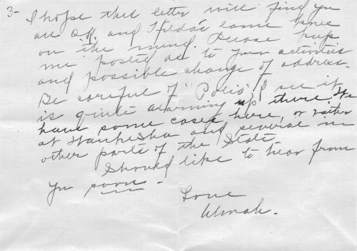 a letter from almah hanks to harrison lewis gregg about family history