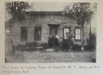 photo of the home of jonathan and abby elvira brown in slyboro ny