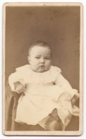 photo of unknown baby taken at e h canfield studio in milwaukee wisconsin
