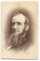 a cdv of an unknown man taken at e h canfield studio in milwaukee wisconsin