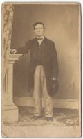 a cdv of lewis hendrick gregg young